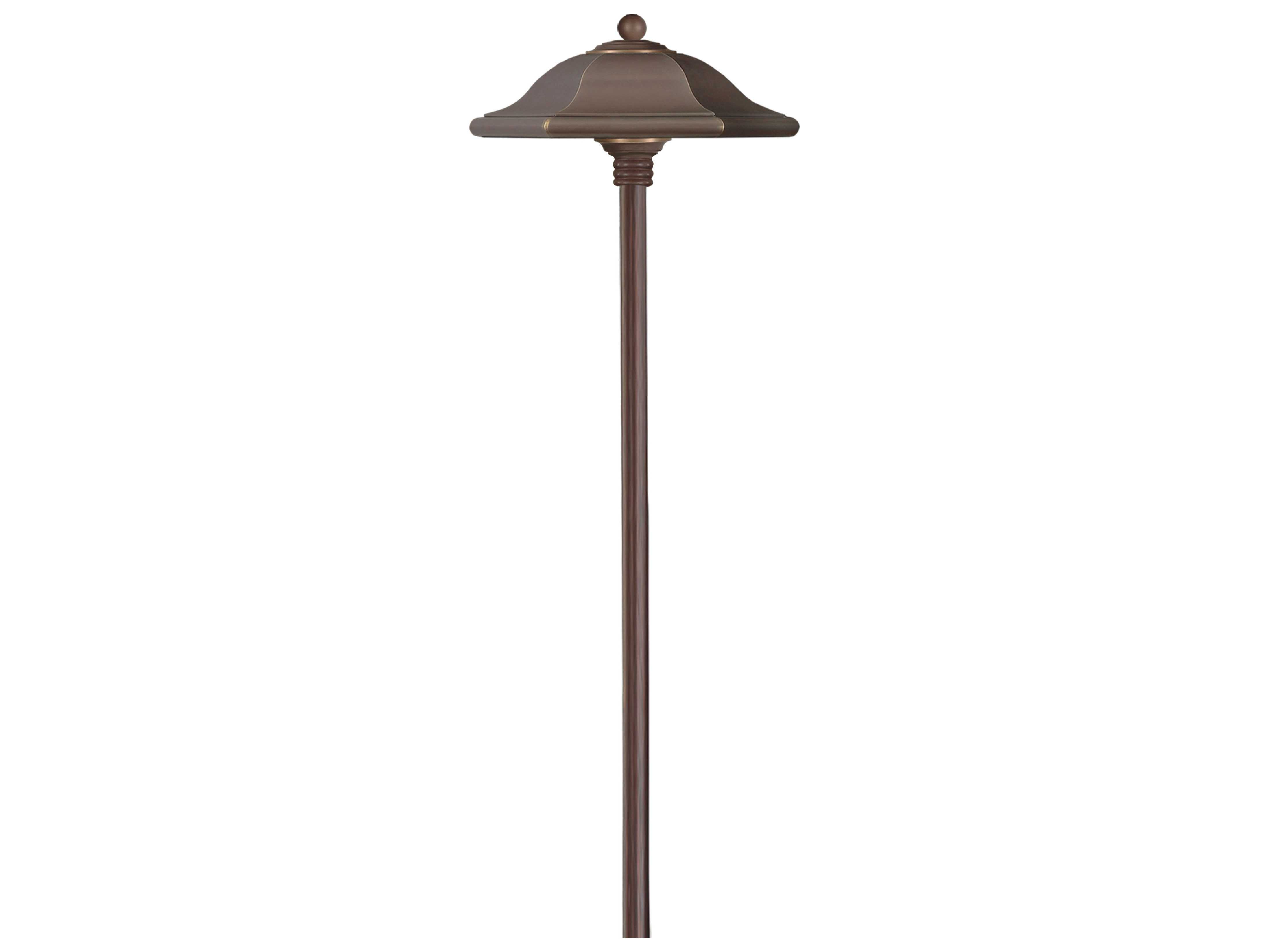 Progress Lighting Archie Collection 26 25 In 3 Light: Hinkley Lighting Monticello Copper Bronze Outdoor Path