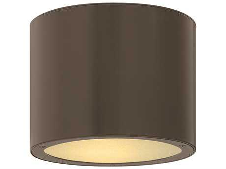 Hinkley Lighting Luna Bronze Incandescent Outdoor Ceiling Light