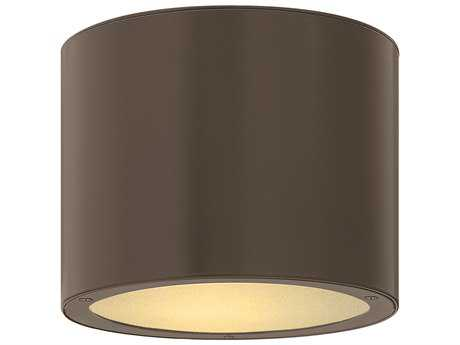 Hinkley Lighting Luna Bronze CFL Outdoor Ceiling Light