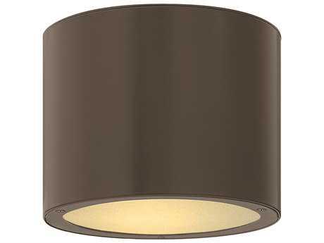 Hinkley Lighting Luna Bronze LED Outdoor Ceiling Light