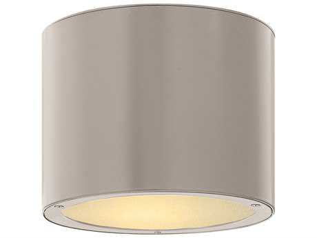 Hinkley Lighting Luna Titanium Incandescent Outdoor Ceiling Light