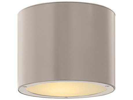 Hinkley Lighting Luna Titanium LED Outdoor Ceiling Light