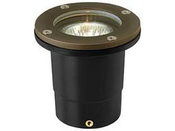 Hinkley Lighting Hardy Island Matte Bronze 4'' Wide 2700K LED (25 Watt Equivalent) Outdoor Landscape Flat Top Well Light