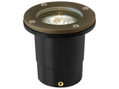 Hinkley Lighting Hardy Island Matte Bronze 4'' Wide 3000K LED (25 Watt Equivalent) Outdoor Landscape Flat Top Well Light