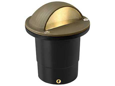 Hinkley Lighting Hardy Island Matte Bronze 4'' Wide 3000K LED (25 Watt Equivalent) Outdoor Landscape Eyebrow Top Well Light