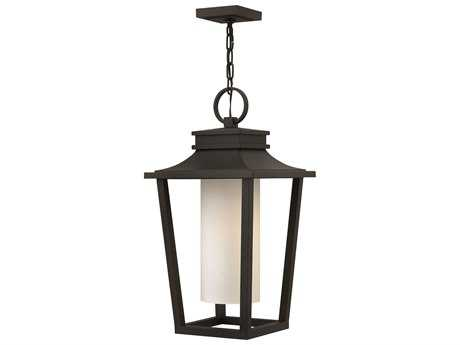 Hinkley Lighting Sullivan Black CFL Outdoor Pendant Light