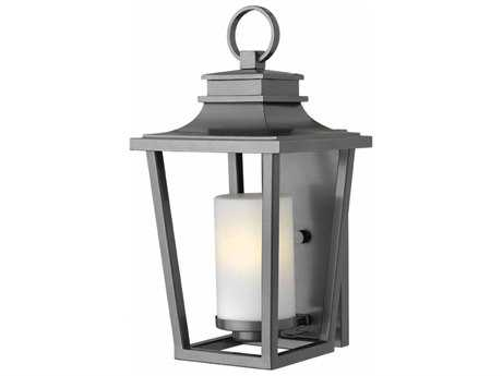 Hinkley Lighting Sullivan Hematite 9'' Wide Outdoor Wall Sconce