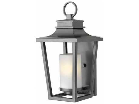 Hinkley Lighting Sullivan Hematite 9'' Wide GU24 CFL Outdoor Wall Sconce