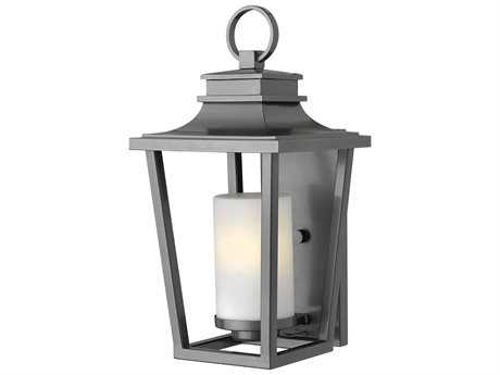 Hinkley Lighting Sullivan Hematite 9'' Wide LED Outdoor Wall Sconce