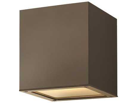 Hinkley Lighting Kube Bronze CFL Outdoor Ceiling Light