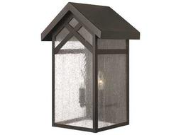 Hinkley Lighting Holbrook Black CFL Outdoor Wall Light