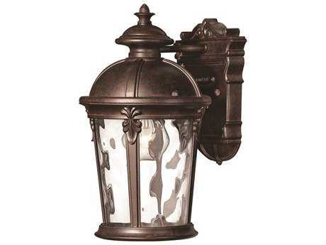 Hinkley Lighting Windsor River Rock LED Outdoor Wall Light