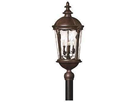 Hinkley Lighting Windsor River Rock LED Outdoor Post Light