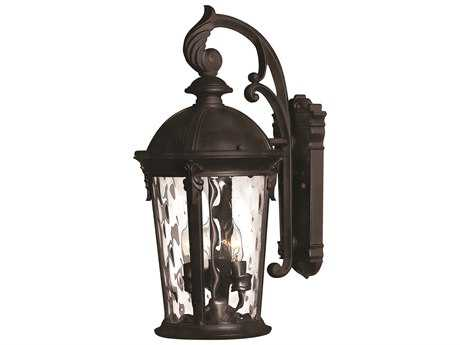 Hinkley Lighting Windsor Black LED Outdoor Wall Light