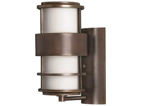 Hinkley Lighting Saturn Metro Bronze CFL Outdoor Wall Light