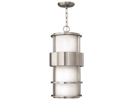 Hinkley Lighting Saturn Stainless Steel CFL Outdoor Pendant Light