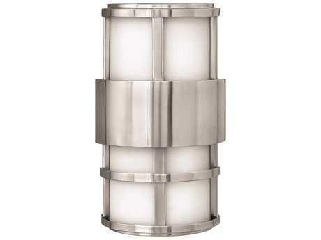 Hinkley Lighting Saturn Stainless Steel CFL Outdoor Wall Light
