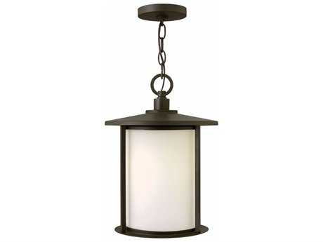 Hinkley Lighting Hudson Oil Rubbed Bronze 11'' Wide GU24 CFL Outdoor Pendant Light
