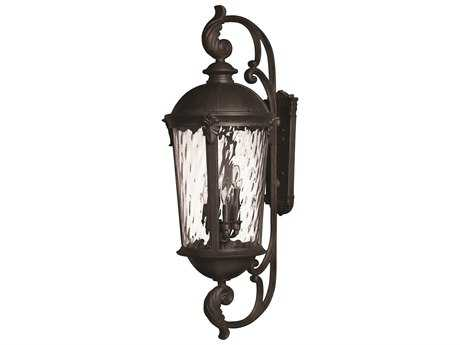 Hinkley Lighting Windsor Black Two-Light LED Outdoor Wall Light