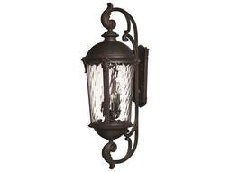 Hinkley Lighting Windsor Black Two-Light LED Outdoor Wall Light