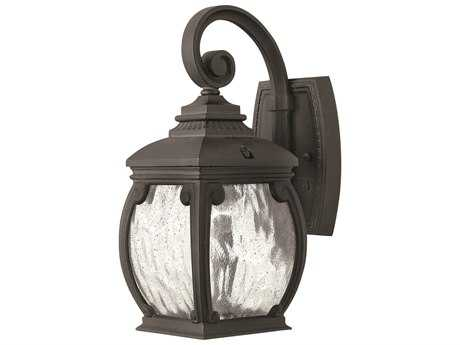 Hinkley Lighting Forum Museum Black Outdoor Wall Light