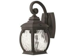 Hinkley Lighting Forum Museum Black Outdoor Wall Light