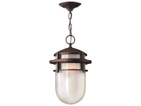 Hinkley Lighting Reef Victorian Bronze CFL Outdoor Pendant Light