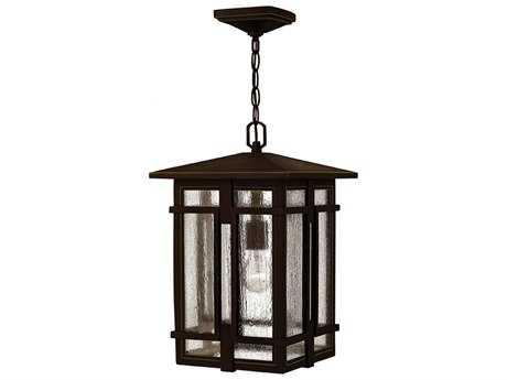 Hinkley Lighting Tucker Oil Rubbed Bronze 11'' Wide LED Outdoor Pendant Light