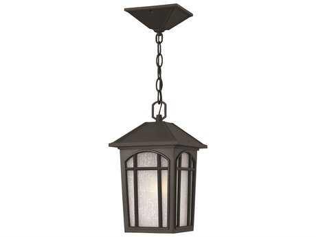 Hinkley Lighting Cedar Hill Black Incandescent Outdoor Pendant Light