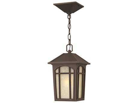Hinkley Lighting Cedar Hill Oil Rubbed Bronze LED Outdoor Pendant Light