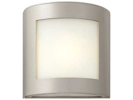 Hinkley Lighting Solara Titanium Incandescent Outdoor Wall Light