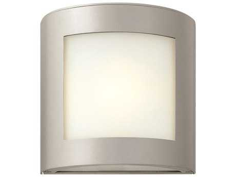 Hinkley Lighting Solara Titanium CFL Outdoor Wall Light