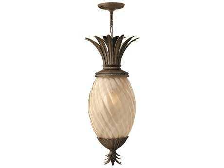 Hinkley Lighting Plantation Pearl Bronze CFL Outdoor Pendant Light