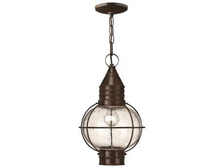 Hinkley Lighting Cape Cod Sienna Bronze LED Outdoor Pendant Light