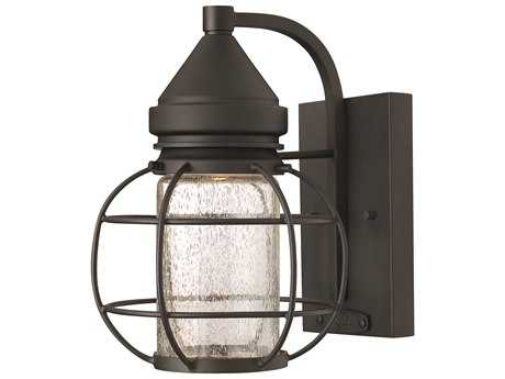 Hinkley Lighting New Castle Black Outdoor Wall Light