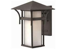 Hinkley Lighting Harbor Satin Black CFL Outdoor Wall Light