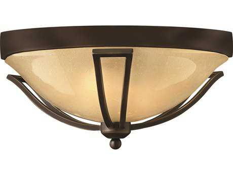Hinkley Lighting Bolla Olde Bronze Two-Light CFL Outdoor Ceiling Light