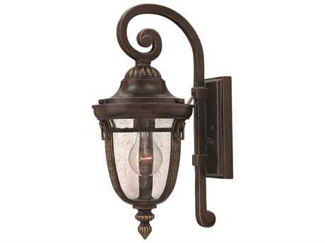 Hinkley Lighting Key West Regency Bronze Incandescent Outdoor Wall Light