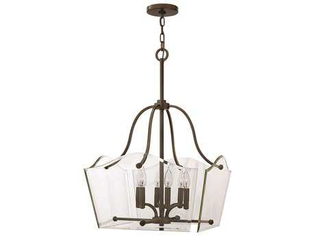 Hinkley Lighting Wingate Oil Rubbed Bronze Six-Light 20 Wide Chandelier