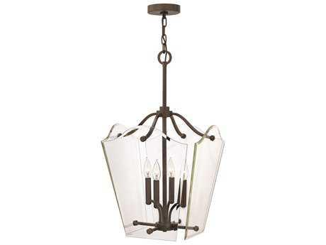 Hinkley Lighting Wingate Oil Rubbed Bronze Four-Light Mini-Chandelier