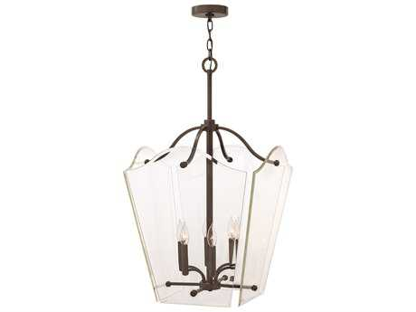 Hinkley Lighting Wingate Oil Rubbed Bronze Six-Light Mini-Chandelier