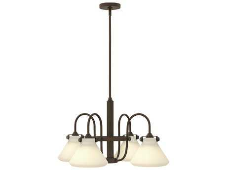 Hinkley Lighting Congress Oil Rubbed Bronze Four-Light 26.25 Wide Chandelier