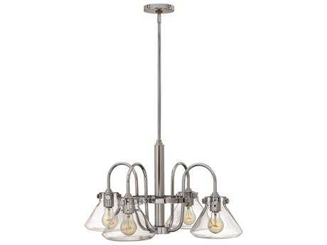 Hinkley Lighting Congress Chrome Four-Light 26.25 Wide Chandelier