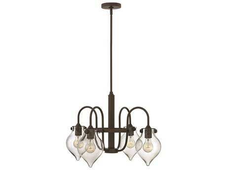 Hinkley Lighting Congress Oil Rubbed Bronze Four-Light 24.5 Wide Mini-Chandelier