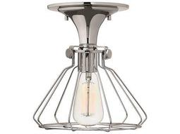 Hinkley Lighting Congress Chrome Semi-Flush Mount Light
