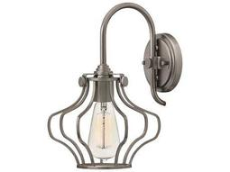 Hinkley Lighting Congress Antique Nickel Wall Sconce