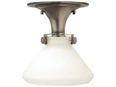 Hinkley Lighting Congress Antique Nickel LED Semi-Flush Mount Light HY3140ANLED