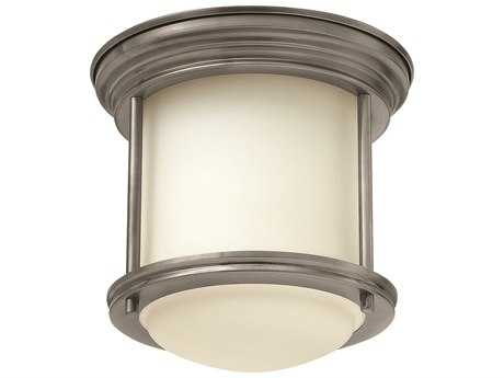 Hinkley Lighting Hadley Antique Nickel LED Flush Mount Light