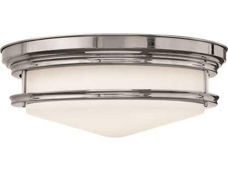 Hinkley Lighting Hadley Chrome LED Flush Mount Light