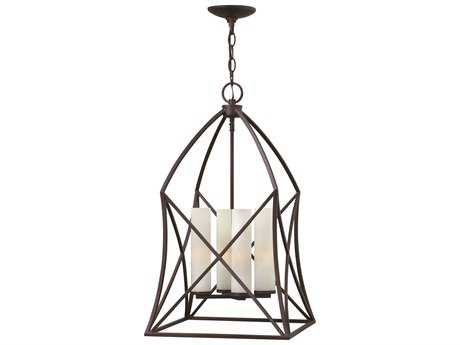 Hinkley Lighting Ravenna Spanish Bronze Four-Light Pendant Light HY3313SB